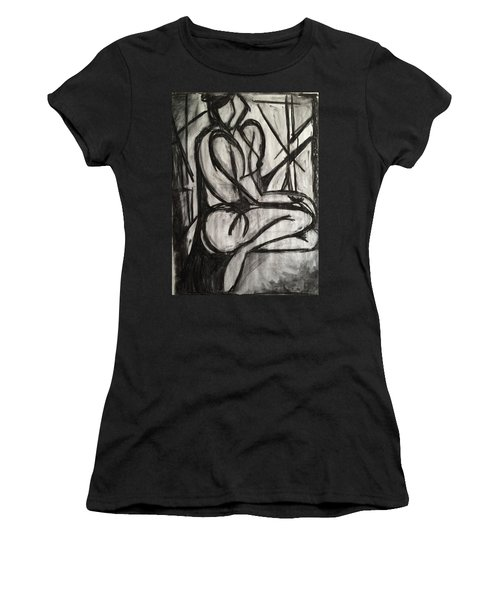 Angled Repose Women's T-Shirt (Athletic Fit)