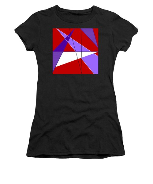 Angles And Triangles Women's T-Shirt (Athletic Fit)