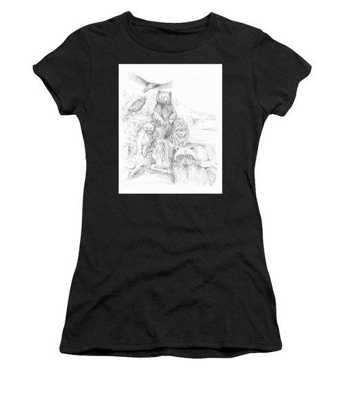 Animal Wisdom Women's T-Shirt
