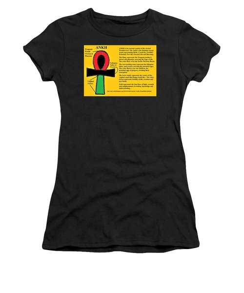Ankh Meaning Women's T-Shirt (Athletic Fit)