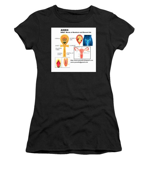 Ankh Womb Women's T-Shirt