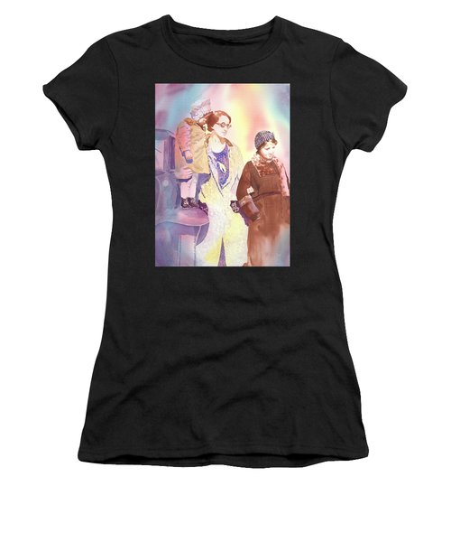 Anna Nation And Her Girls, 1932      Women's T-Shirt (Athletic Fit)