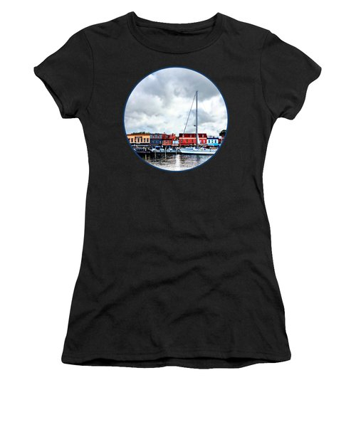 Annapolis Md - City Dock Women's T-Shirt (Athletic Fit)