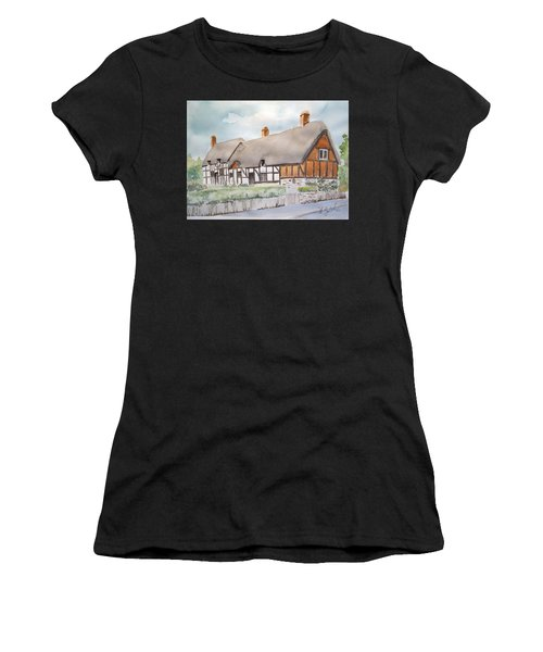 Anne Hathaway's Cottage Women's T-Shirt (Athletic Fit)