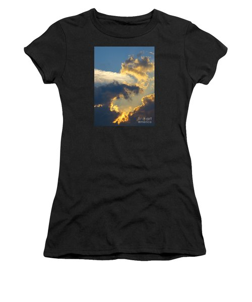 Another Beautiful Grouping Of Florida Clouds At Sunset.  Women's T-Shirt (Athletic Fit)
