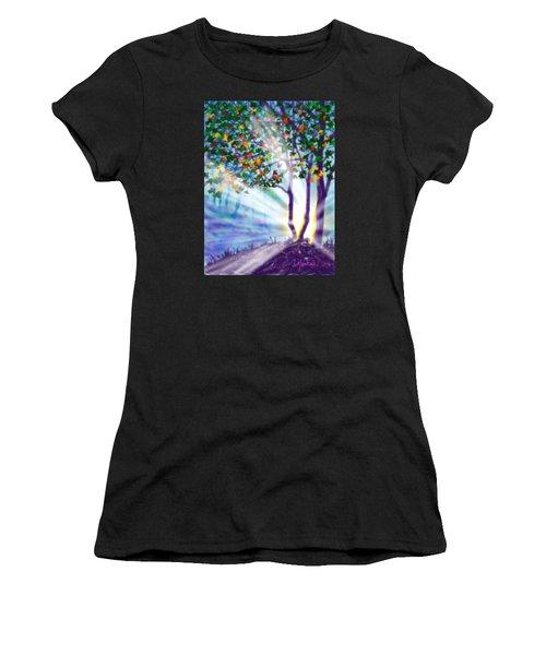 Another Lightburst Women's T-Shirt (Athletic Fit)