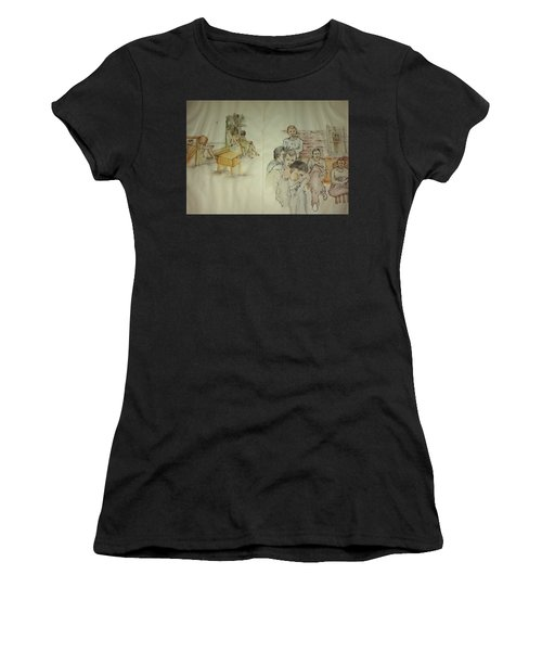 Another Look At Mental Illness Album Women's T-Shirt (Athletic Fit)