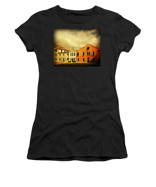 Women's T-Shirt (Junior Cut) featuring the photograph Another Malamocco Day by Anne Kotan