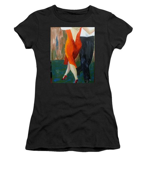Another Tango Twirl Women's T-Shirt (Athletic Fit)