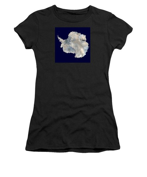 Antarctica From Blue Marble Women's T-Shirt