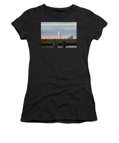 Antares Launch From Wallops Island Women's T-Shirt