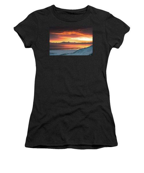 Antelope Island Sunset Women's T-Shirt