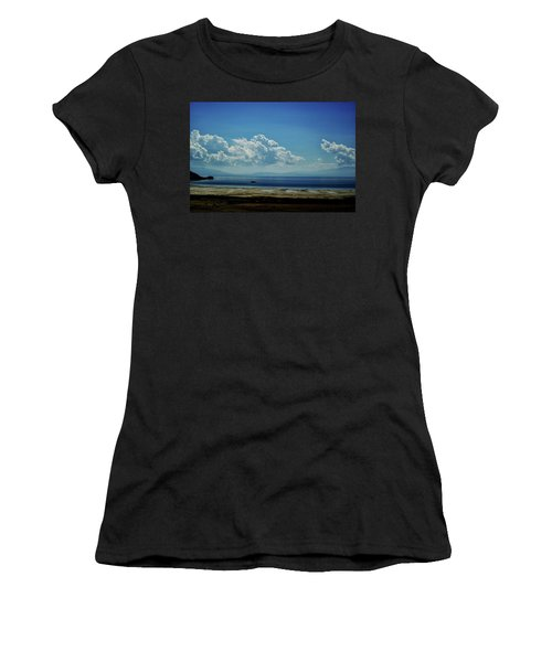 Women's T-Shirt (Junior Cut) featuring the photograph Antelope Island, Utah by Cynthia Powell
