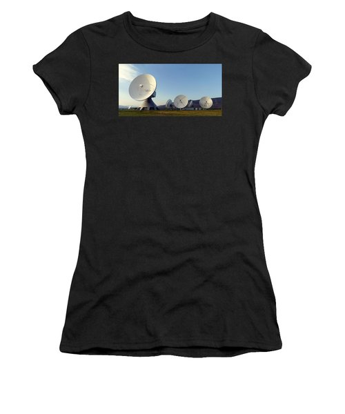 Antenna Array 2 Of The Earth Station  Women's T-Shirt