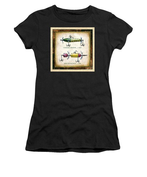 Antique Lure Panel One Women's T-Shirt (Athletic Fit)