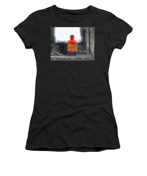Antique Mercurochrome Hynson Westcott And Dunning Inc. Medicine Bottle - Maryland Glass Corporation Women's T-Shirt