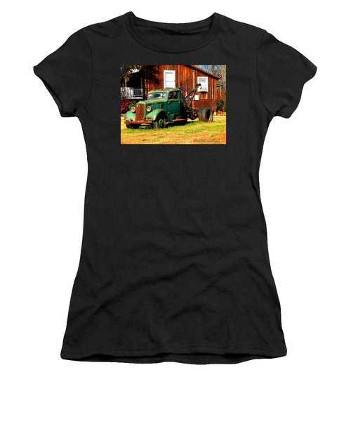 Antique Tow Truck Women's T-Shirt (Athletic Fit)