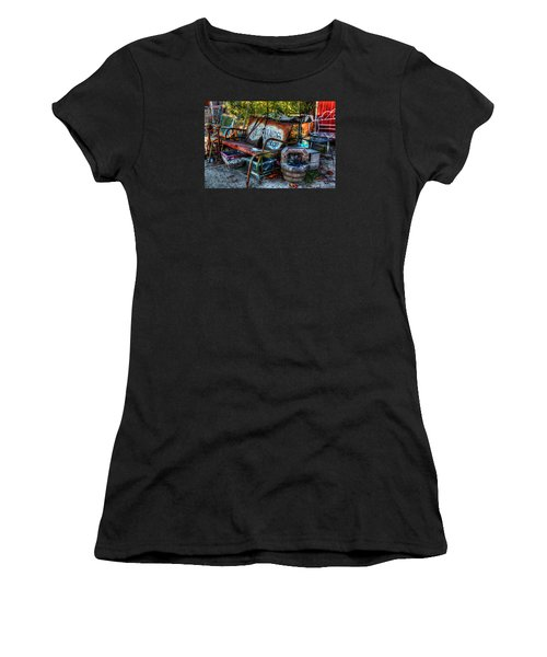 Antiques Shop Women's T-Shirt (Athletic Fit)