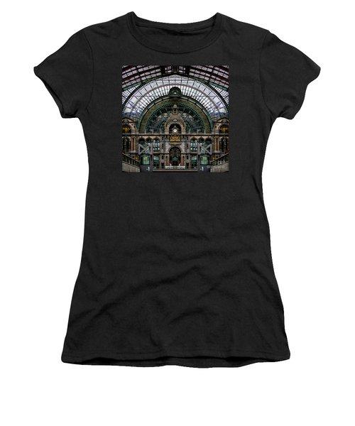 Antwerp Train Terminal Women's T-Shirt