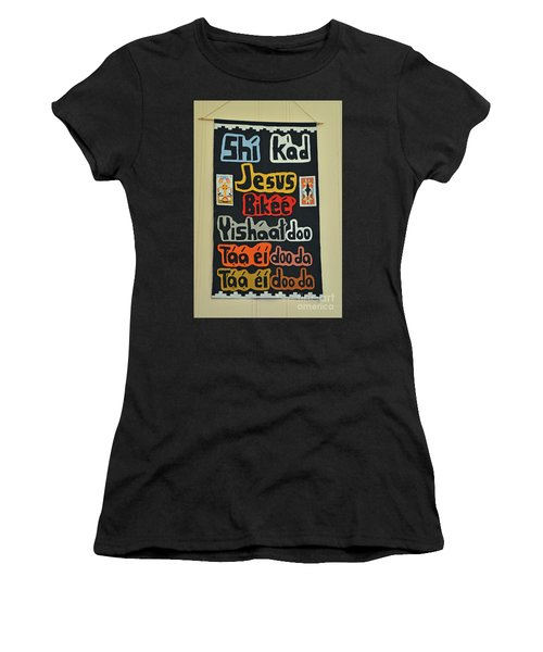 Women's T-Shirt (Junior Cut) featuring the photograph Any Language by Debby Pueschel