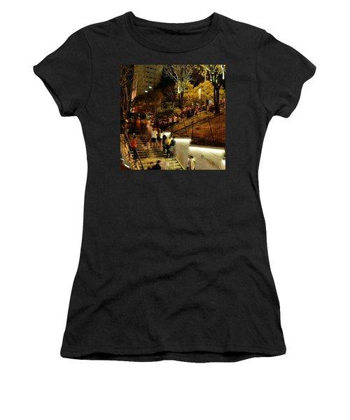 Ao Ar Livre, Ocupando Por Completo O Women's T-Shirt