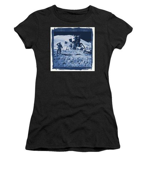 Apollo 15 Mission To The Moon - Nasa Women's T-Shirt