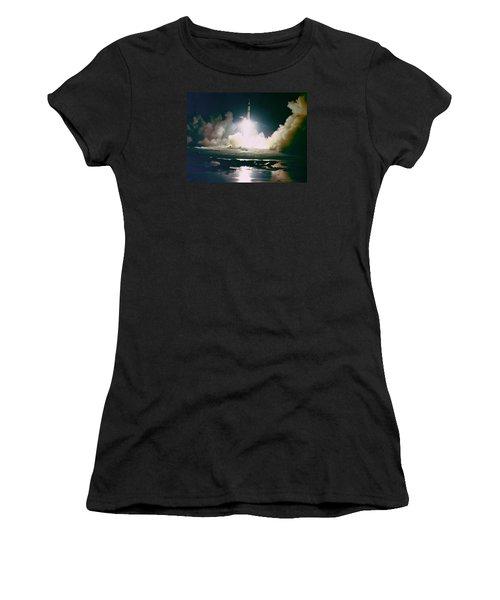 Apollo 17 Night Launch Women's T-Shirt