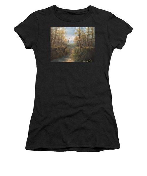 Appalachian View  Women's T-Shirt (Athletic Fit)
