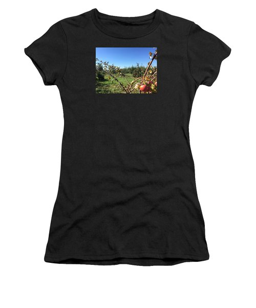 Apple Orchard 1 Women's T-Shirt (Athletic Fit)