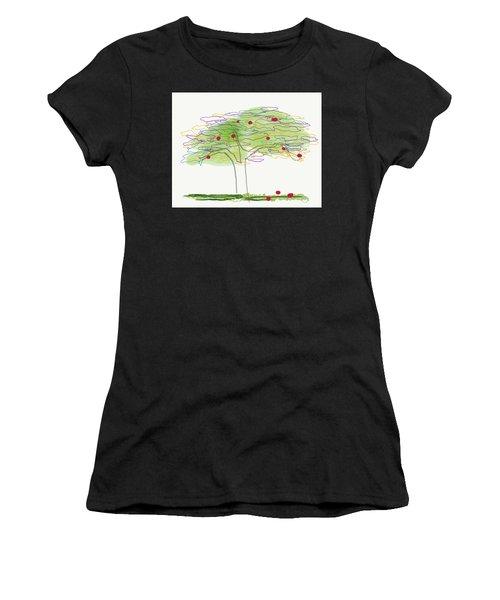 Apple Tree  Women's T-Shirt