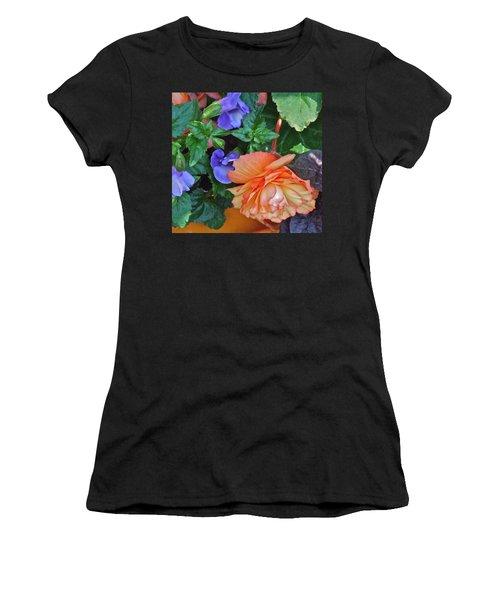 Apricot Begonia 1 Women's T-Shirt