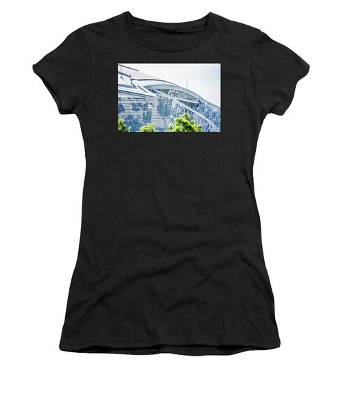 April 2017 Arlington Texas Att Nfl Cowboys Football Stadium  Women's T-Shirt