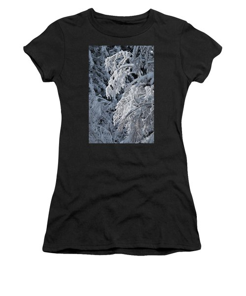 April Snow Women's T-Shirt (Athletic Fit)