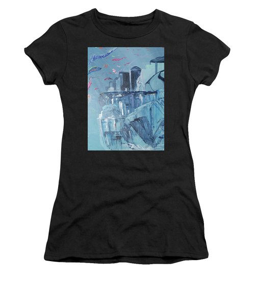 Aqua Resort Women's T-Shirt (Athletic Fit)