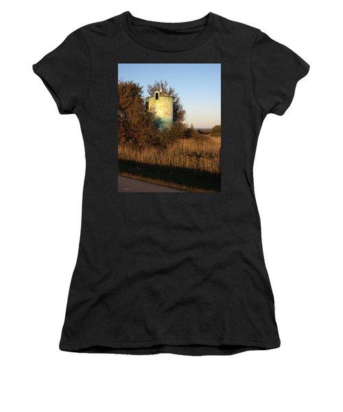 Aqua Silo Women's T-Shirt