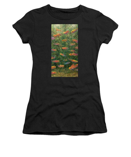 Aquarium Women's T-Shirt (Athletic Fit)