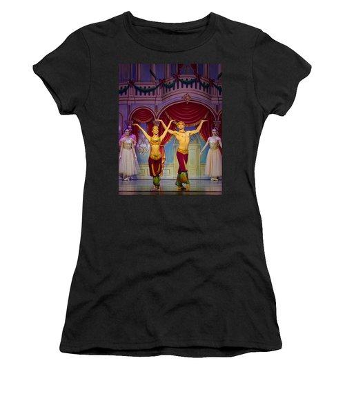 Arabian Dancers Women's T-Shirt (Athletic Fit)