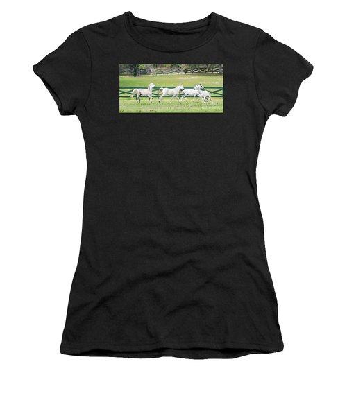 Arabian Horses Women's T-Shirt