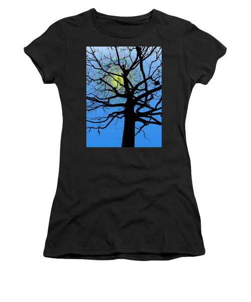 Arboreal Sun Women's T-Shirt (Athletic Fit)
