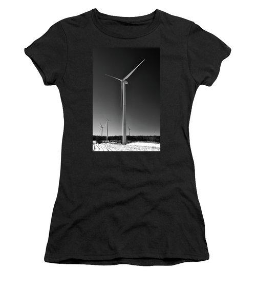 Arcade Wind Turbines 6557 Women's T-Shirt