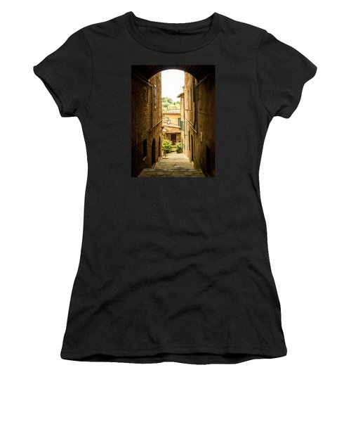 Arched Alley Women's T-Shirt (Athletic Fit)