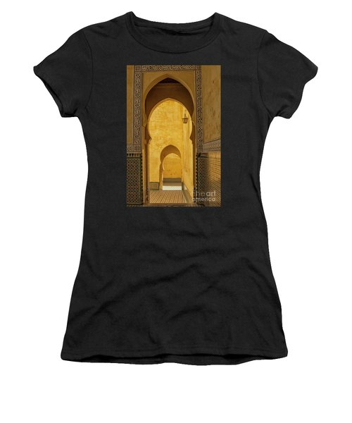 Arched Doors Women's T-Shirt (Athletic Fit)