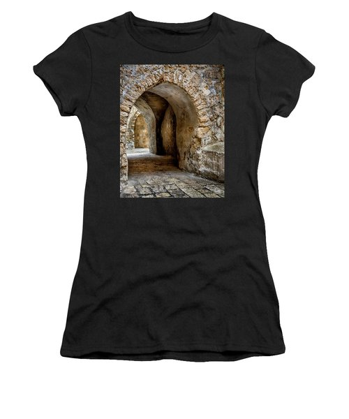 Arched Walkway Women's T-Shirt (Athletic Fit)