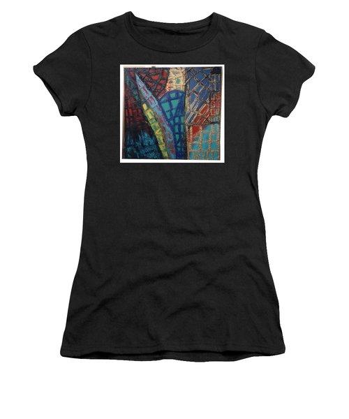 Architectuaral Bent,   Women's T-Shirt (Athletic Fit)