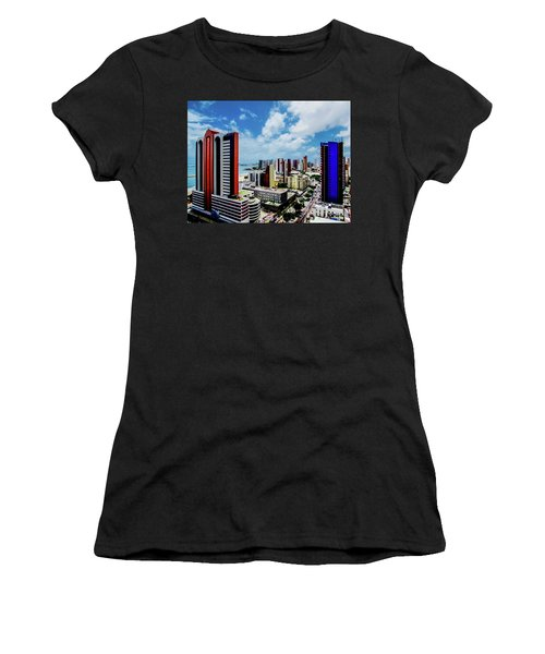 Architecture And Building Women's T-Shirt (Junior Cut) by Cesar Vieira