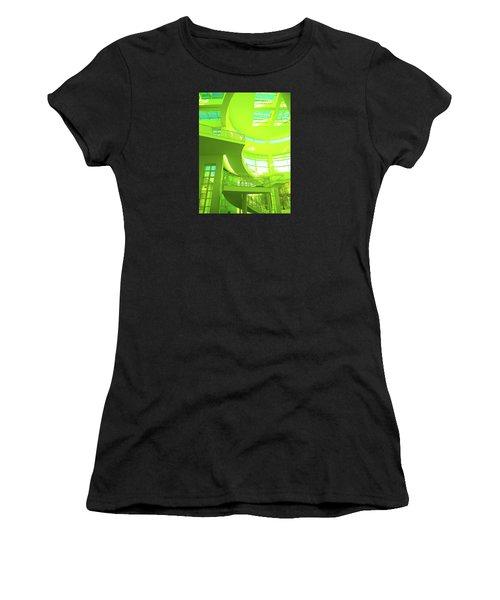 Green Splash Architecture Women's T-Shirt