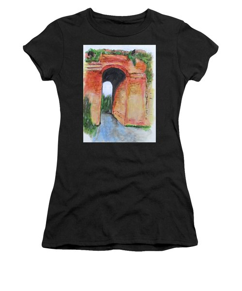 Arco Felice, Revisited Women's T-Shirt (Athletic Fit)