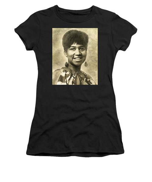 Aretha Franklin Queen Of Soul Women's T-Shirt (Athletic Fit)