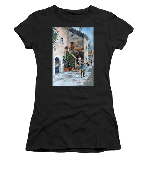 Arezzo-3 Women's T-Shirt (Athletic Fit)