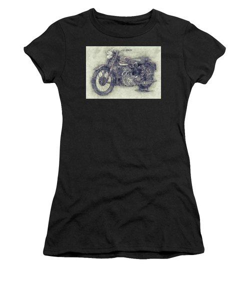 Ariel Square Four 1 - 1931 - Vintage Motorcycle Poster - Automotive Art Women's T-Shirt